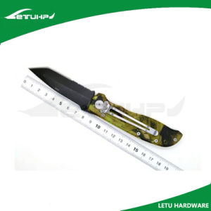 Hotsale EDC Camo Handle Multi Purpose Camping Pocket Knife pictures & photos