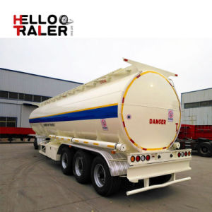 China Factory Price Bulk Cement Tank Semi Trailer with V-Shape pictures & photos