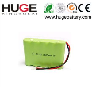 1.2V AA size 1100mAh Ni-mh battery pictures & photos