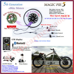Bluetooth Programmable! 36V 500W Brushless Bike Hub Motor pictures & photos