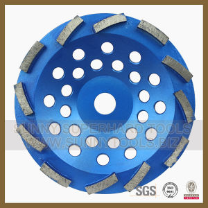 Swirl Diamond Grinding Cup Wheel for Stone, Concrete pictures & photos