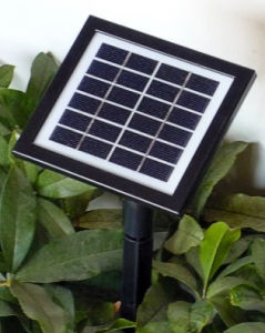 Glass PV Solar Light Controller with Battery Polycrystal (19.6*16.2) pictures & photos