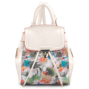 Designer Fashionable Printing PU Leather Backpack Bag (LY05042) pictures & photos