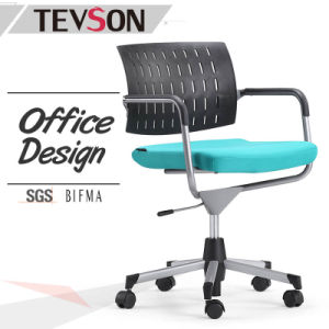 Simple Style Plastic Low Back Staff Chair pictures & photos