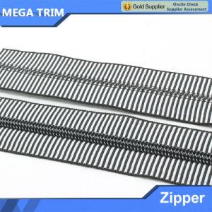 5# Nylon Zebra Stripes Zipper Long Chain pictures & photos
