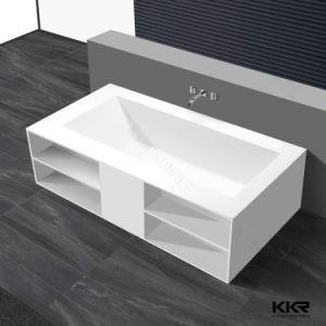 Sanitary Ware Freestanding Bath Stone Resin Bathroom Bathtub pictures & photos
