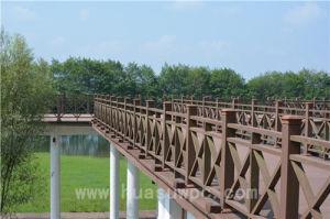 Landscape Building Municipal Wood Fencing Low Maintenance WPC Railing pictures & photos