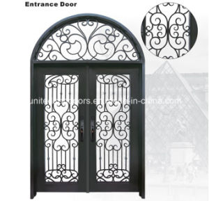 High Quality Round Top Iron Door From China (UID-D002) pictures & photos