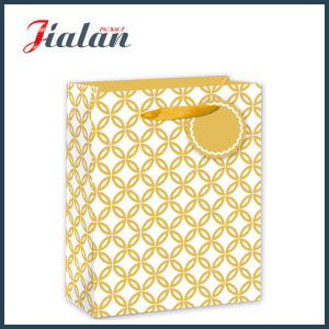 Cheap Glossy Laminated Coated Paper Daily Shopping Gift Paper Bag pictures & photos