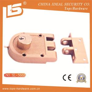 Security Safe Door Rim Lock (566-B) pictures & photos