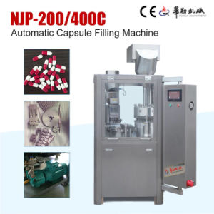 Made in China Medicine Pellet Auto Capsule Filling Machine pictures & photos