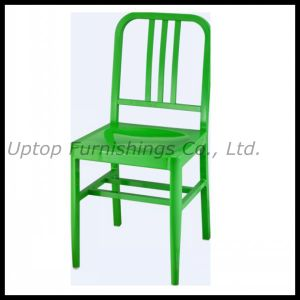 Simple Durable Aluminum Green Restaurant Chairs (SP-OC626) pictures & photos