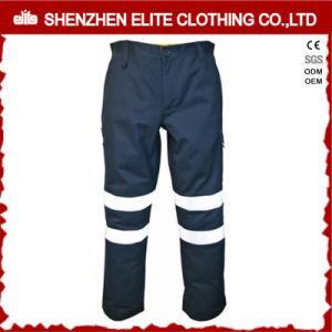 Navy Blue Reflective Cotton Drill Hi Vis Work Pants pictures & photos