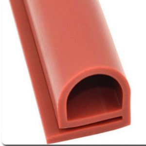 Silicone Rubber Extrusion Door Seals Strips for Construction pictures & photos