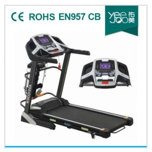 2014 Hot with PMMA Panel, Double Layer for Home Use Motorized Treadmill (Yeejoo F35) pictures & photos