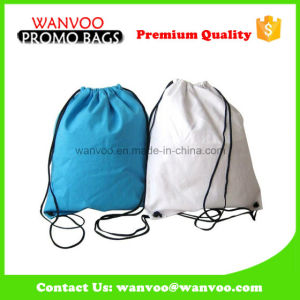 Custom Polyester Drawstring Sports Backapack Bag pictures & photos