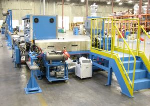 Extrusion Line of CATV, Co-Axial Control Cable Sheathing