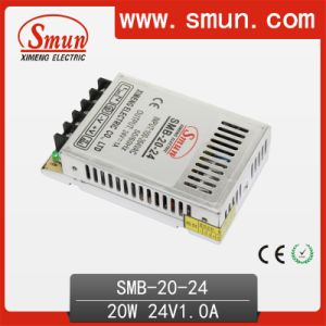20W 24V Ultra Thin Plastic Case AC DC Power Supply pictures & photos