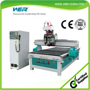 Woodworking 1325 CNC Router with Auto Tool Change System pictures & photos