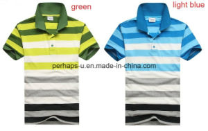 Classical Mens Stripe Polo Shirt pictures & photos