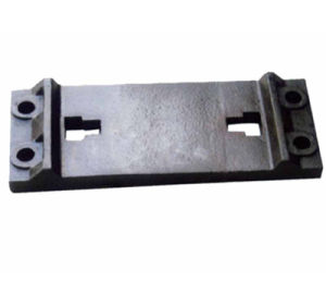 Cast Iron Railroad Tie Plate for Connecting Rail pictures & photos