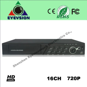 16CH H. 264 (720P) CCTV Security Camera DVR (EV-CH16-N1206C) pictures & photos