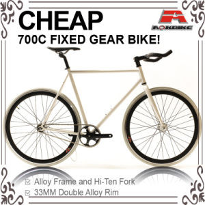 Cheap Hi-Ten 700c Fixed Gear Bike (ADS-7112S) pictures & photos