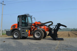 2ton Telescopic Wheel Loader Payloader with Different Attachments pictures & photos