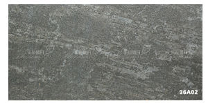 Porcelain Grey Natural Cultural Stone Exterior Wall Tile (300X600mm)