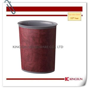 Open Top Plastic Dustbin for Househould pictures & photos
