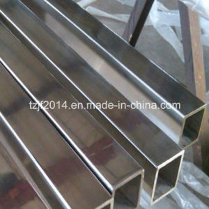 A312 TP304 Seamless Stainless Steel Square Pipe /Tube pictures & photos