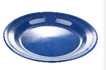 Bule Color High Quality Enamel Plate pictures & photos