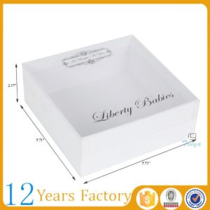 Handmade Customized Solid Paper Shoe Storage Box pictures & photos