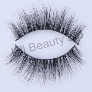Lili Beauty Own Brand Quality 3D Mink Lashes Private Label Eyelash Packaging Wholesale Strip Eyelash pictures & photos
