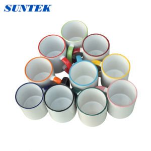 DIY White Coated Sublimation Ceramic Cup pictures & photos