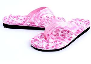 Camouflage Men EVA Massage Beach Sandal Slippers pictures & photos