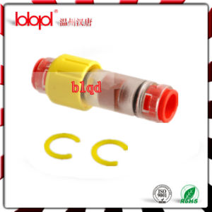 Gas Block Connector (yellow) , Duct Fiber Optic Cable Sealing Connectors pictures & photos