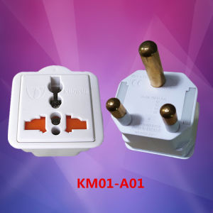 New Shape Travel Adapter South Africa Type Plug pictures & photos