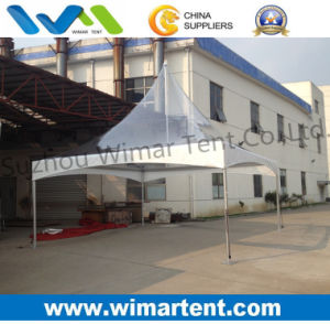 6X6m Transparent Spring Top Tent with High Peak pictures & photos