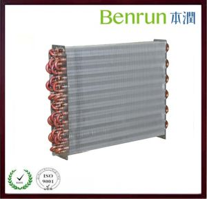 Flate Aluminum Fin Heat Exchanger on Sale