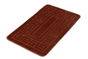 2 Pieces Bath Rug with Latex Backing
