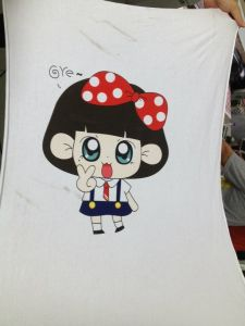 A2 Image Direct on T-Shirt Cloth Printing Machine pictures & photos