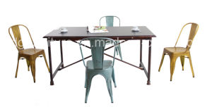 683dt-Stw Vintage Table Chair Dining Set