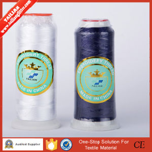 120d/2 100% Embroidery Polyester Thread pictures & photos