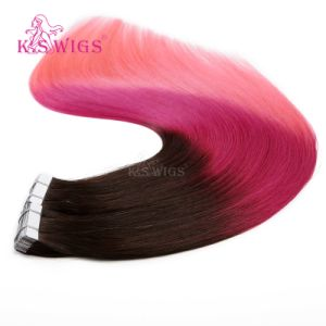 K. S Wigs 2016 New Arrival Top Quality Tape Hair Extension Human Hair Extension pictures & photos