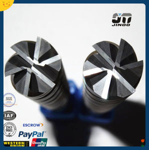 6 Flutes Tungsten Carbide Cutting Tools Milling Cutter with Nano Coating pictures & photos