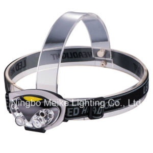 Portable Camping Outdoor Light 4+2 LED Headlamp (MK-3616)