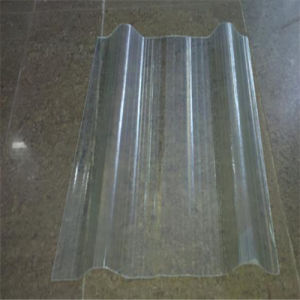 UV Protected 100% Virgin Material Corrugated Polycarbonate Sheet