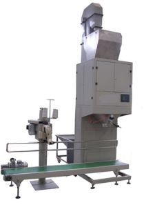PLC Wheat Packing Machine with Conveyor Belt pictures & photos