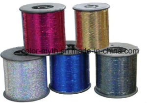Laser M Type Polyester Metallic Yarn Lurex Yarn pictures & photos